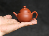 75ml Fully Hand Made Chaozhou Zisha tea pot
