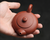 90ml Fully Hand Made Chaozhou Zisha tea pot